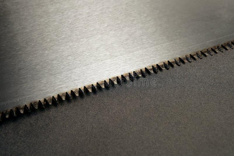 Saw teeth stock photos