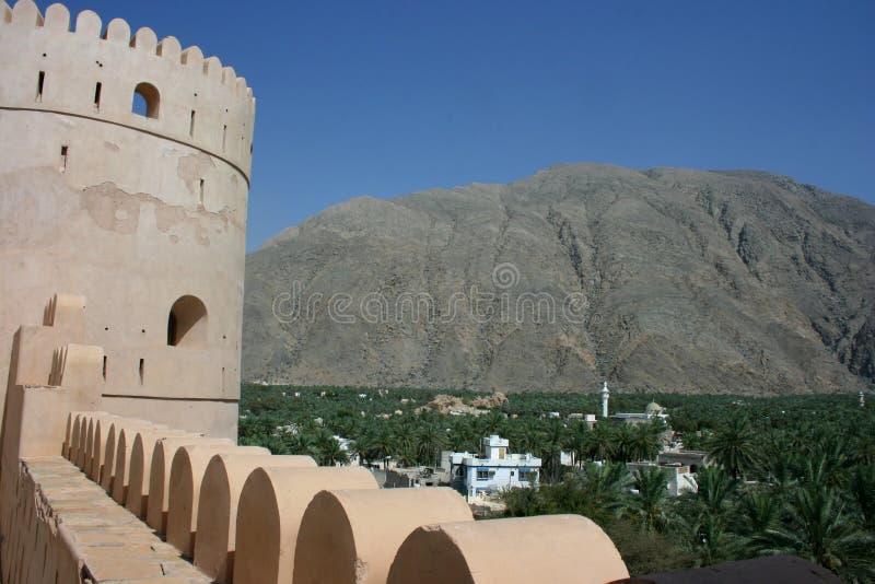 Download Sawadi Fort stock photo. Image of stone, defense, qalat - 14764220