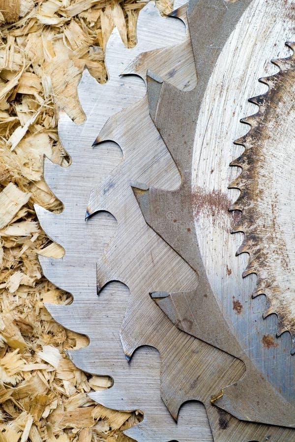 sawblades στοκ εικόνα με δικαίωμα ελεύθερης χρήσης