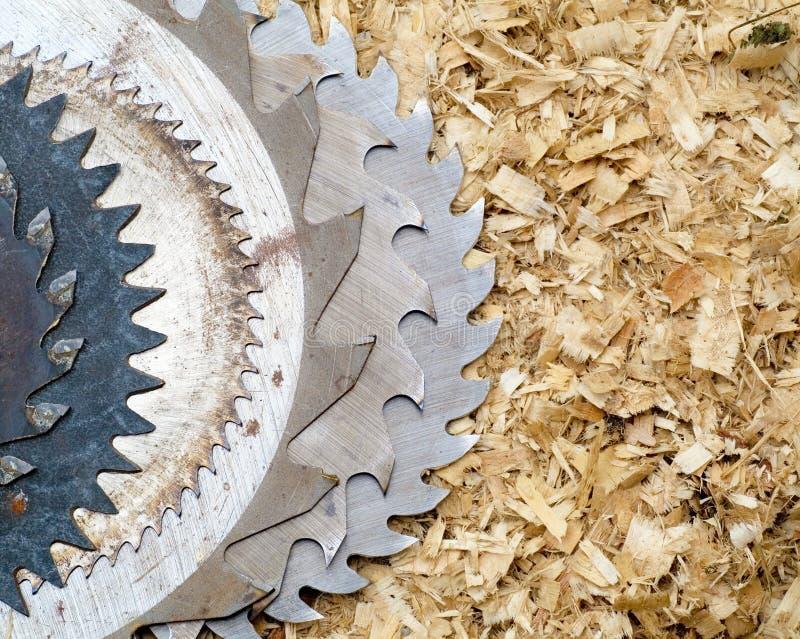 sawblades στοκ εικόνες με δικαίωμα ελεύθερης χρήσης