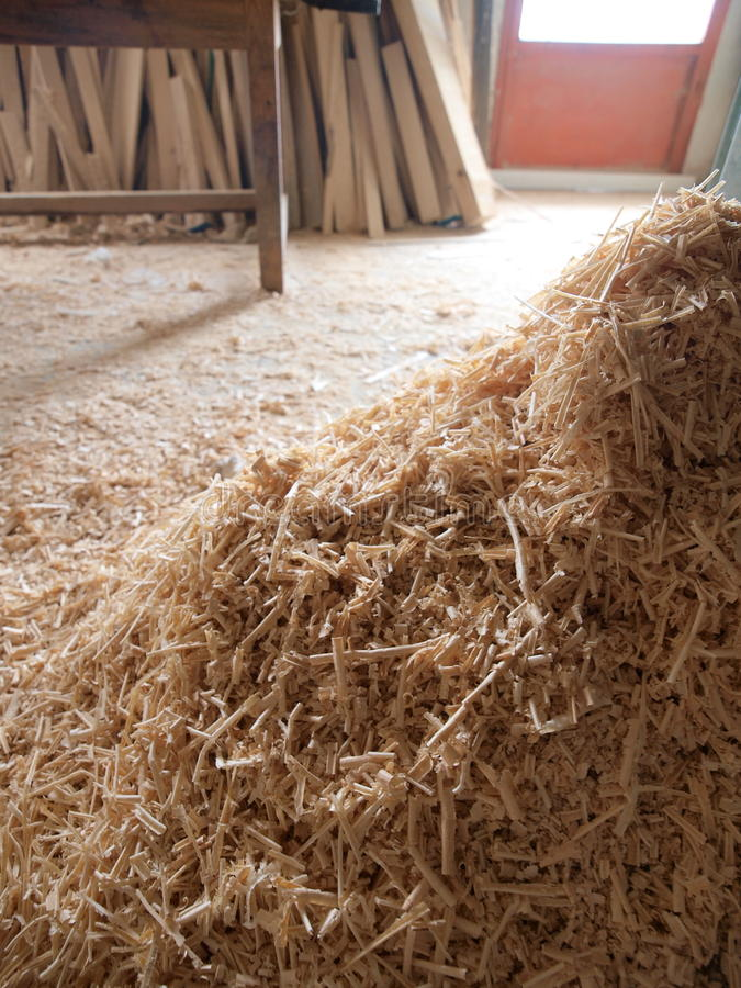 Free Sawdust Royalty Free Stock Images - 12257929
