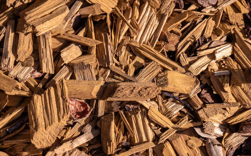 Wood texture chips material pattern chip timber nature abstract textured bark shredded industry lumber detail gardening mulch log stock image