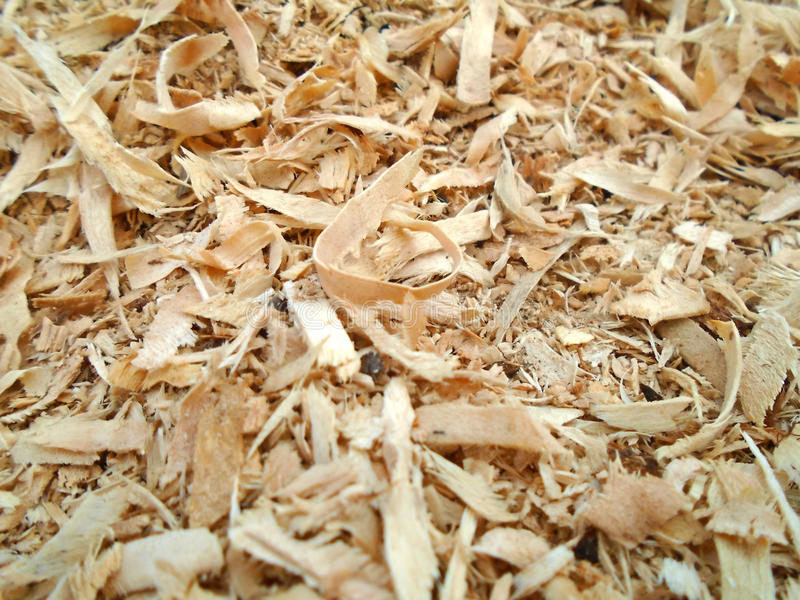 Sawdust and mulch bark background stock photos