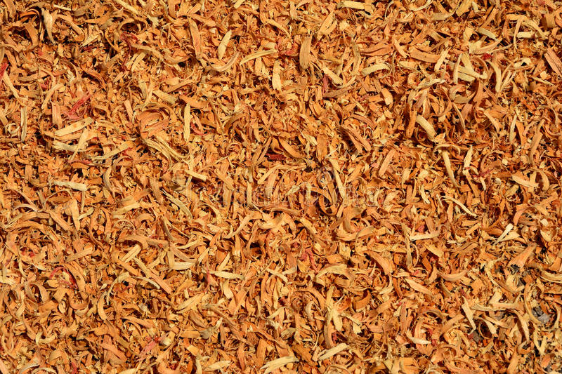 Sawdust of wood stock photography