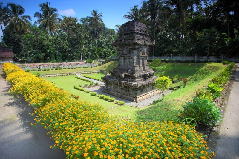 Sawentar Świątynny Wschodni Jawa obrazy stock