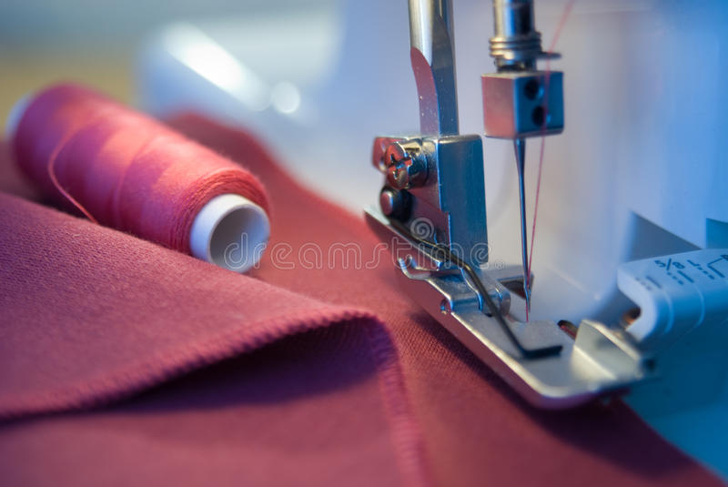 Download Sawing stock image. Image of dress, atelier, thread, processing - 11154883