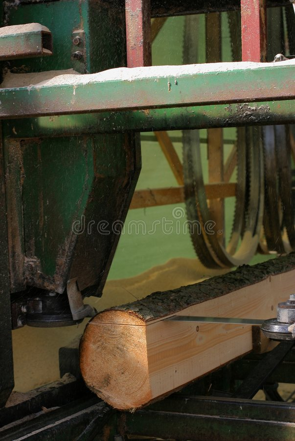 Sawing machine stock image