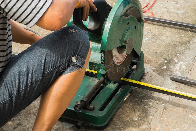 Download Sawing metal editorial image. Image of disc, equipment - 42887980