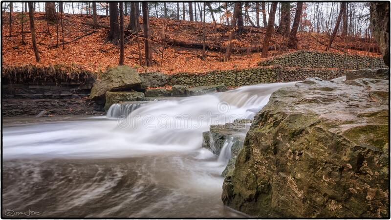Sawmill Creek, Mississauga royalty free stock photography