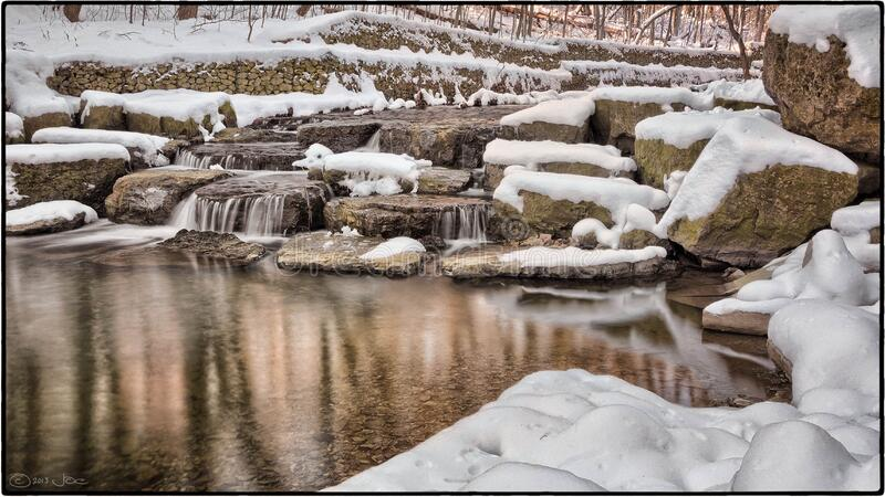 Sawmill Creek, Mississauga royalty free stock photos