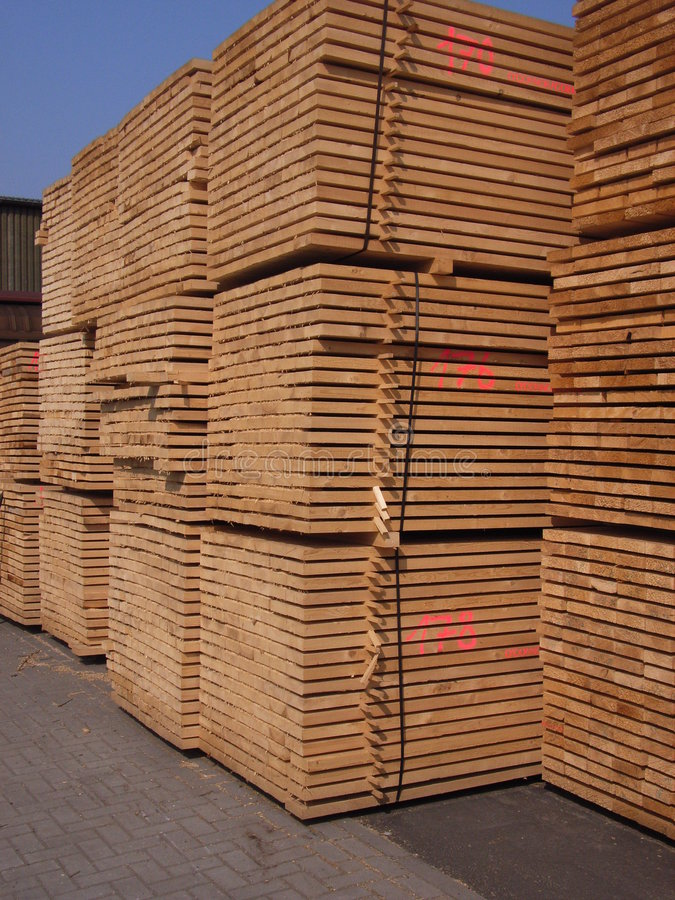 Free Sawn Timber Royalty Free Stock Photography - 2514007