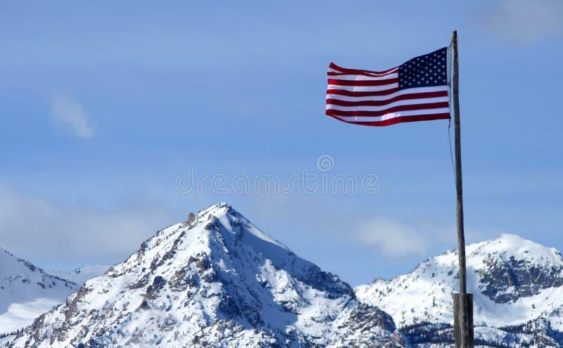 sawtooth USA royaltyfria bilder