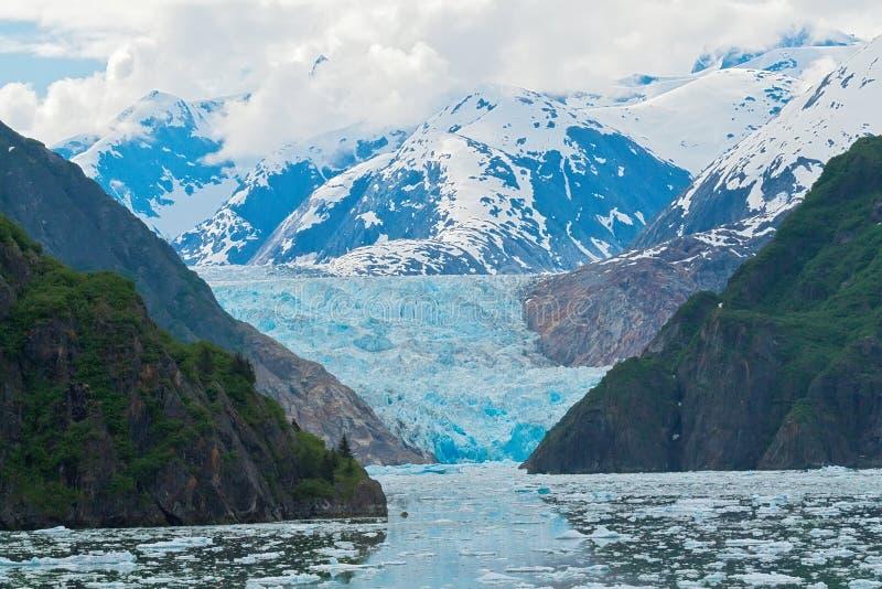 Sawyer Glacier royaltyfria foton