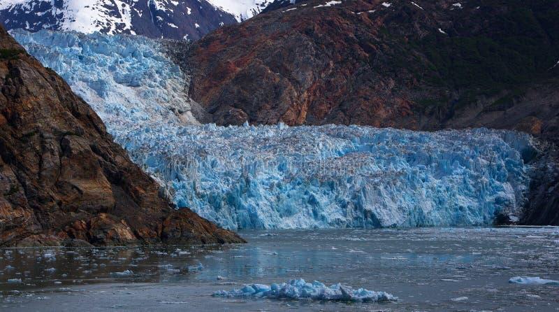 Sawyer Glacier royaltyfria bilder