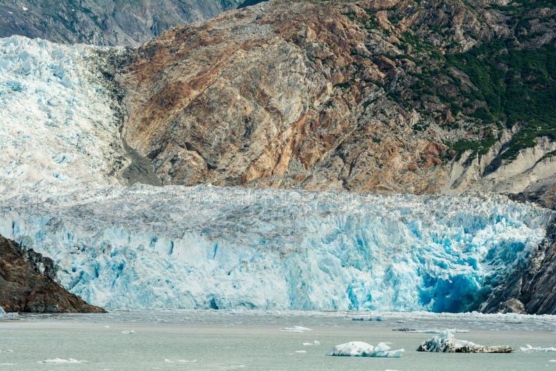 Sawyer Glacier royalty free stock photos
