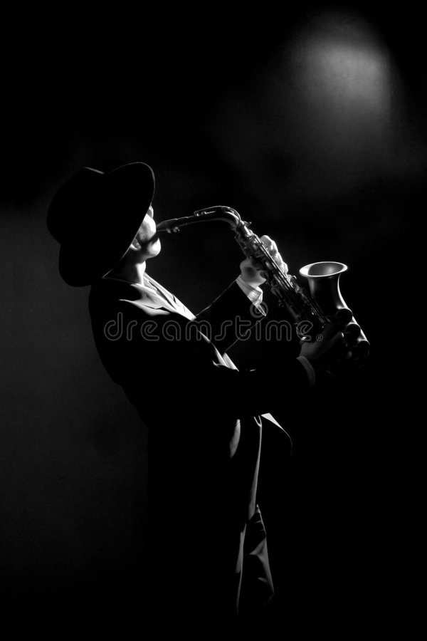 Download Sax stock image. Image of background, perform, music, female - 3107041