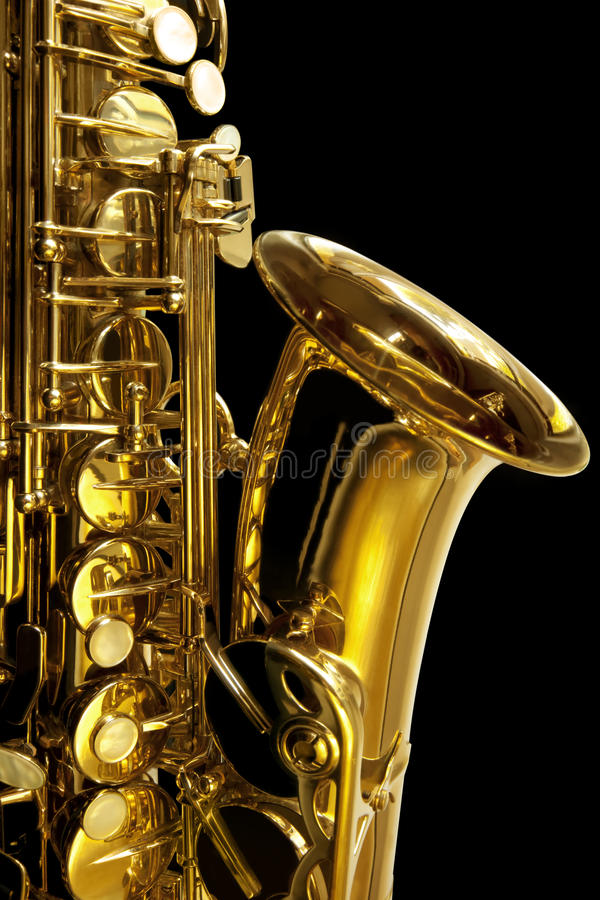 Free Saxaphone Detail Royalty Free Stock Photography - 14855027