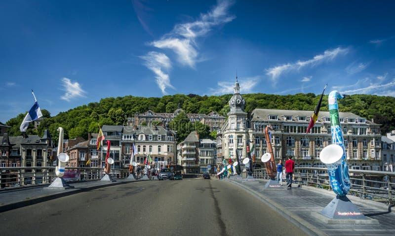 Saxaphone-Straße stockfotografie