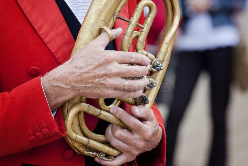 Saxhorn images libres de droits