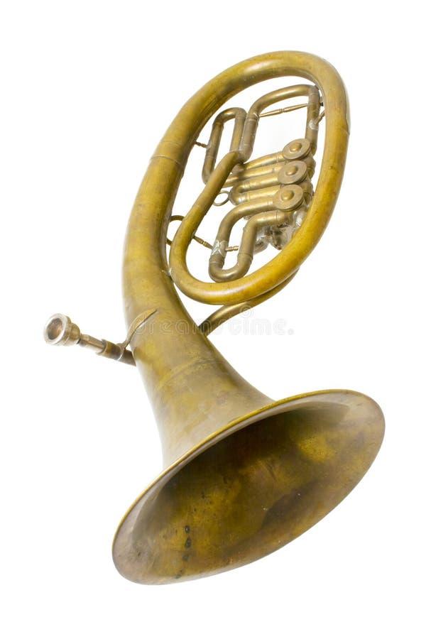 saxhorn d'alto images stock