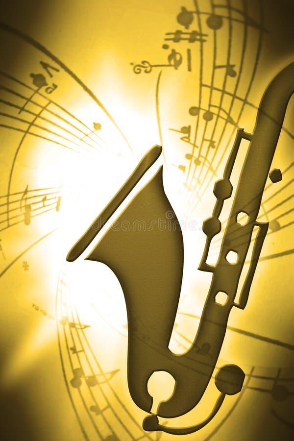 Download SaxMusic stock illustration. Image of nostalgic, music - 7243660