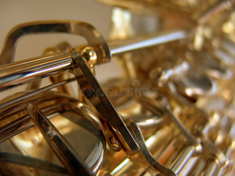 Download Saxo image stock. Image du instrument, klaxon, trombone - 89595