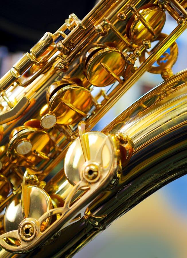 Saxofón foto de archivo libre de regalías