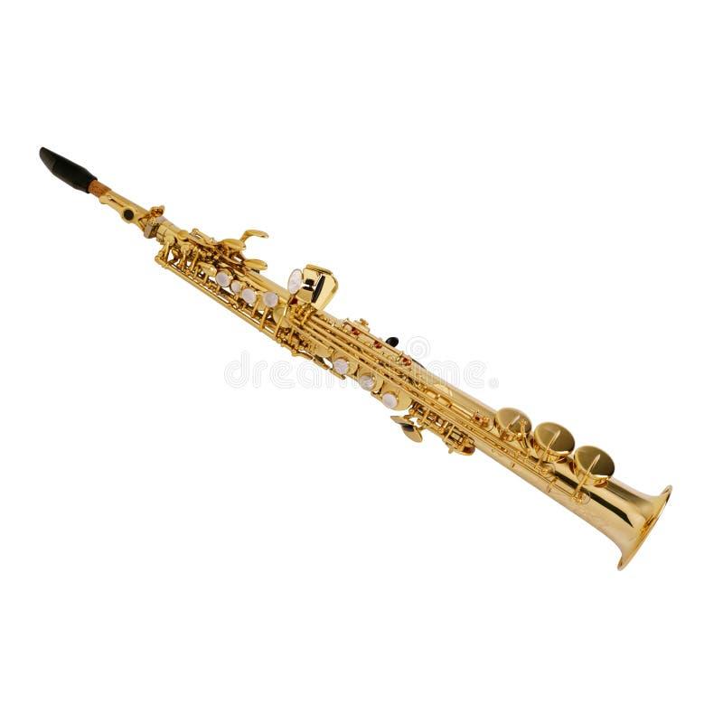 saxofon 3 royaltyfri bild