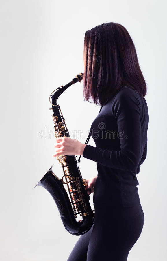 Saxofonista fotos de stock royalty free