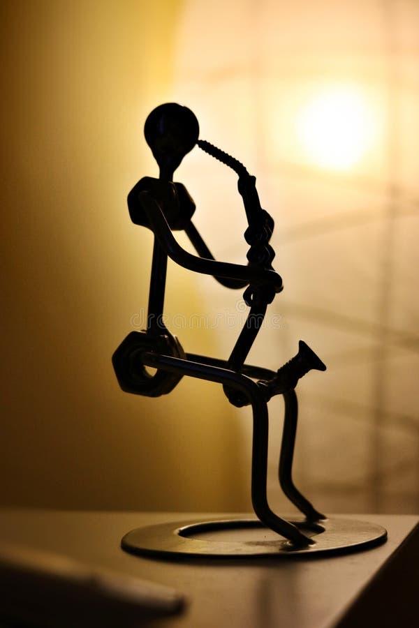 Saxofonista artístico fotos de stock