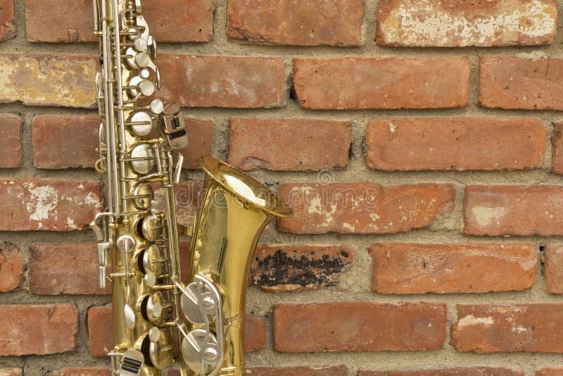 Saxofoon Jazz Club stock foto