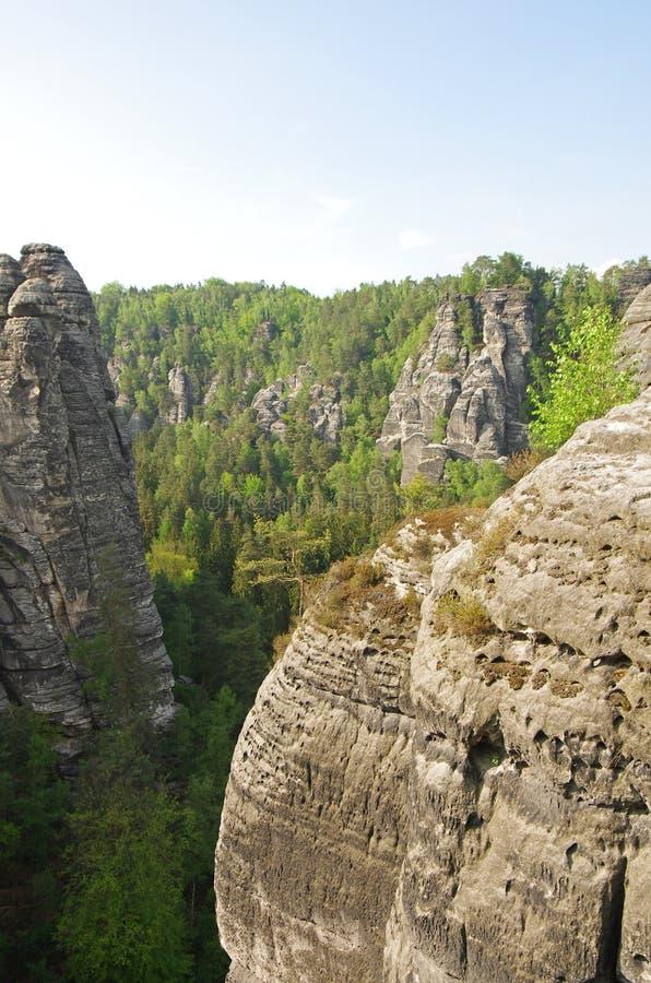 Saxon Suisse photo libre de droits