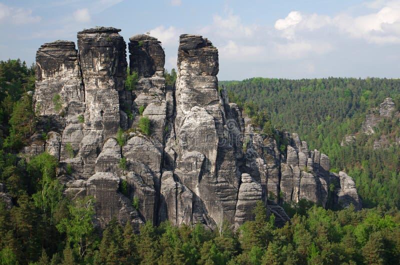 Saxon Suisse image libre de droits