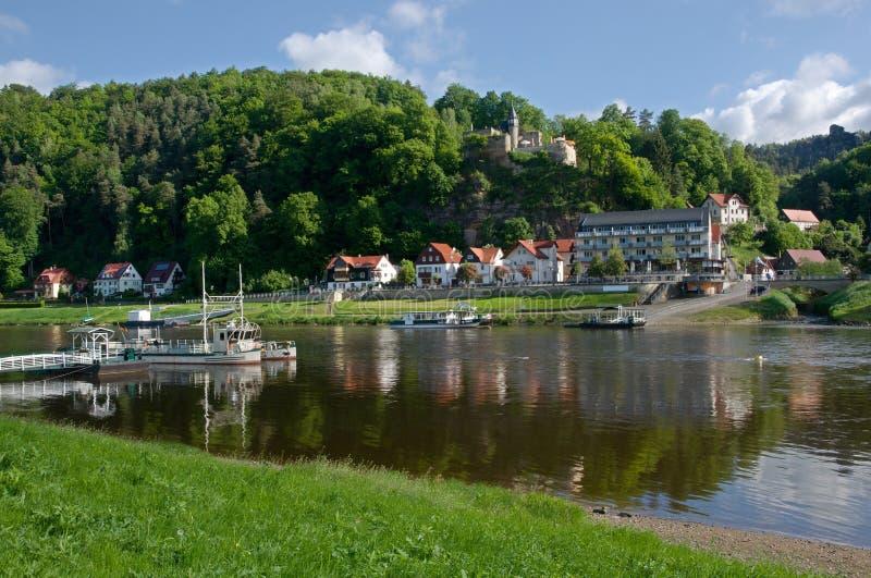 Saxon Suisse, Allemagne image stock