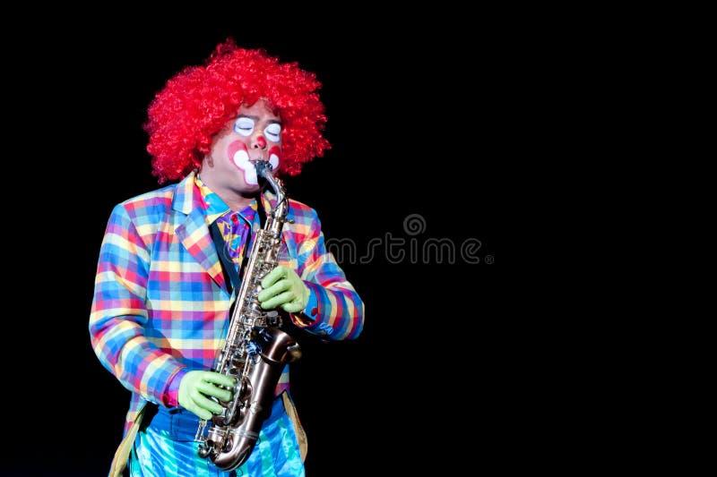 saxophone πλακατζών στοκ φωτογραφία με δικαίωμα ελεύθερης χρήσης