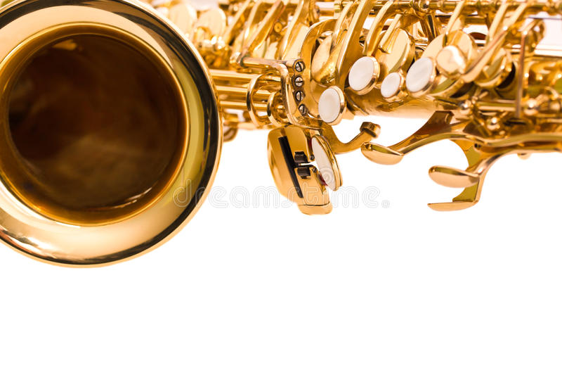 Saxophone τεμαχίων στοκ εικόνες