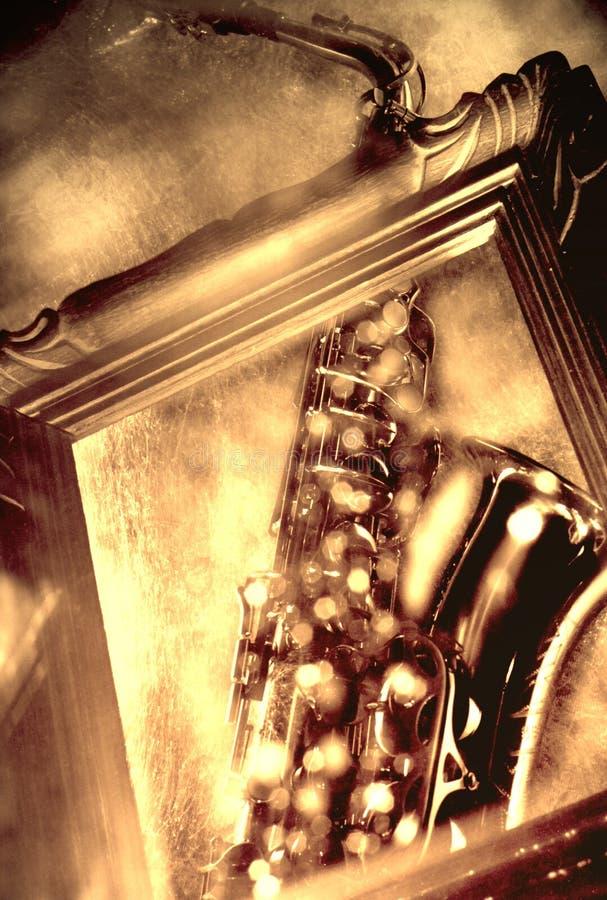 Saxophone photo stock