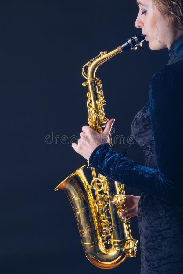 saxophone royalty-vrije stock fotografie