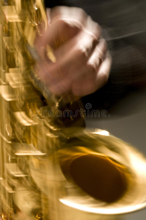 Saxophone Royalty Free Stock Image