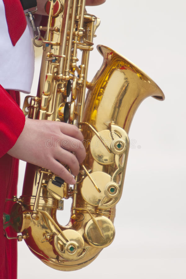 Download Saxophone stock image. Image of body, part, instrument - 13924919