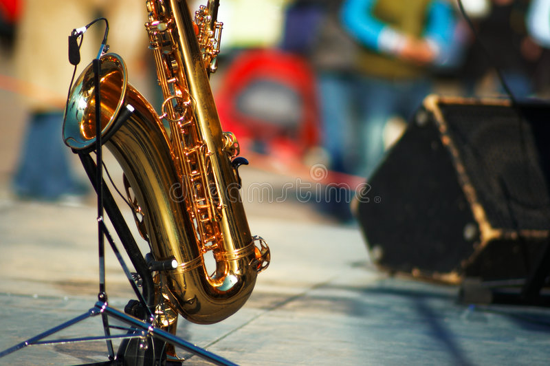 Download Saxophone stock image. Image of desktop, hear, note, brass - 1717255