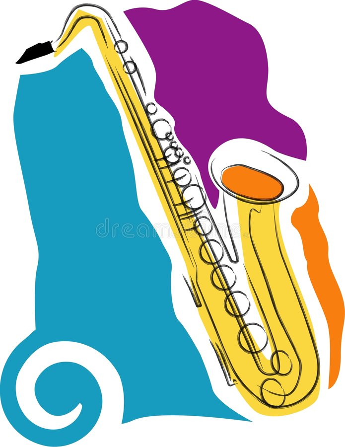 Download Saxophone Royalty Free Stock Photography - Image: 4625507