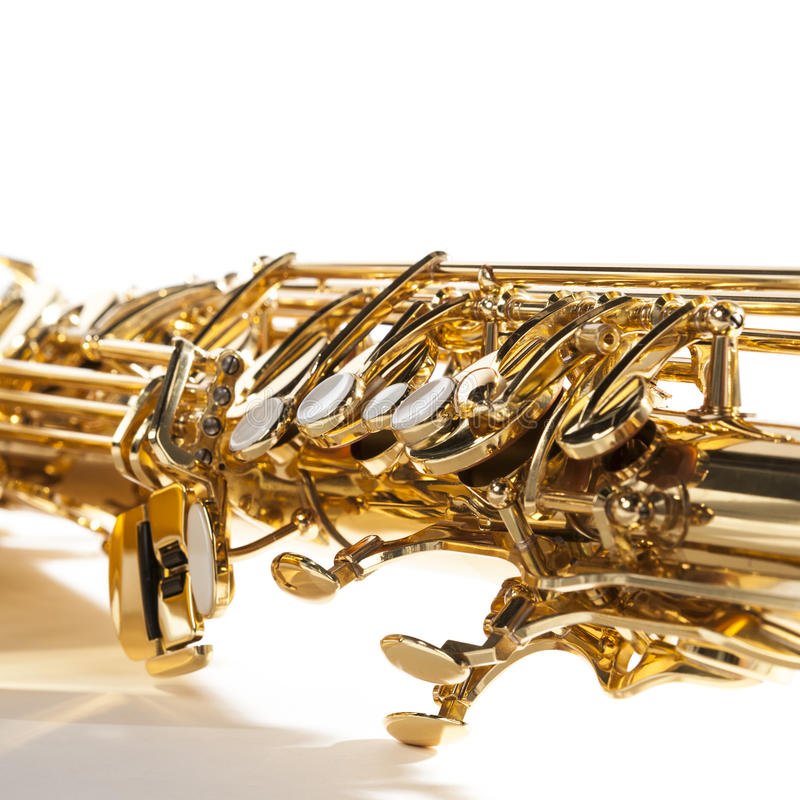 saxophone foto de archivo libre de regalías