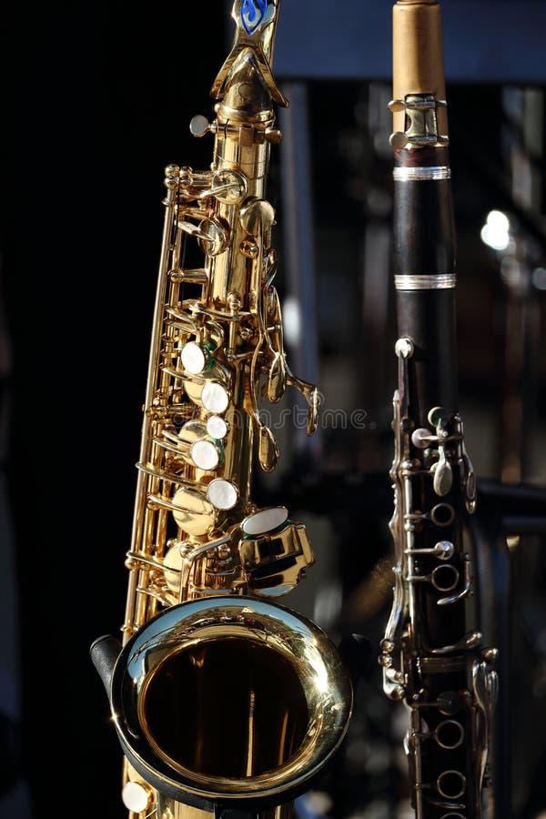 saxophone lizenzfreie stockfotos