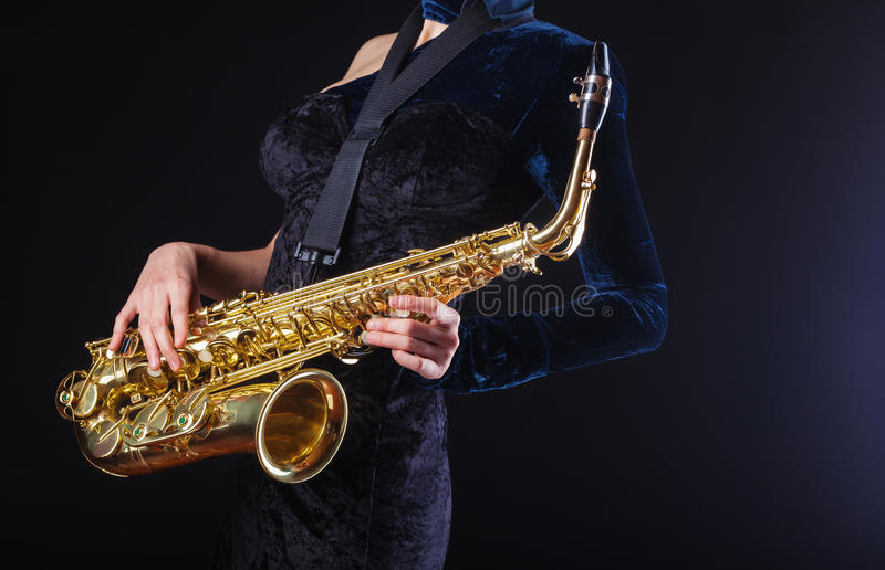 saxophone images stock