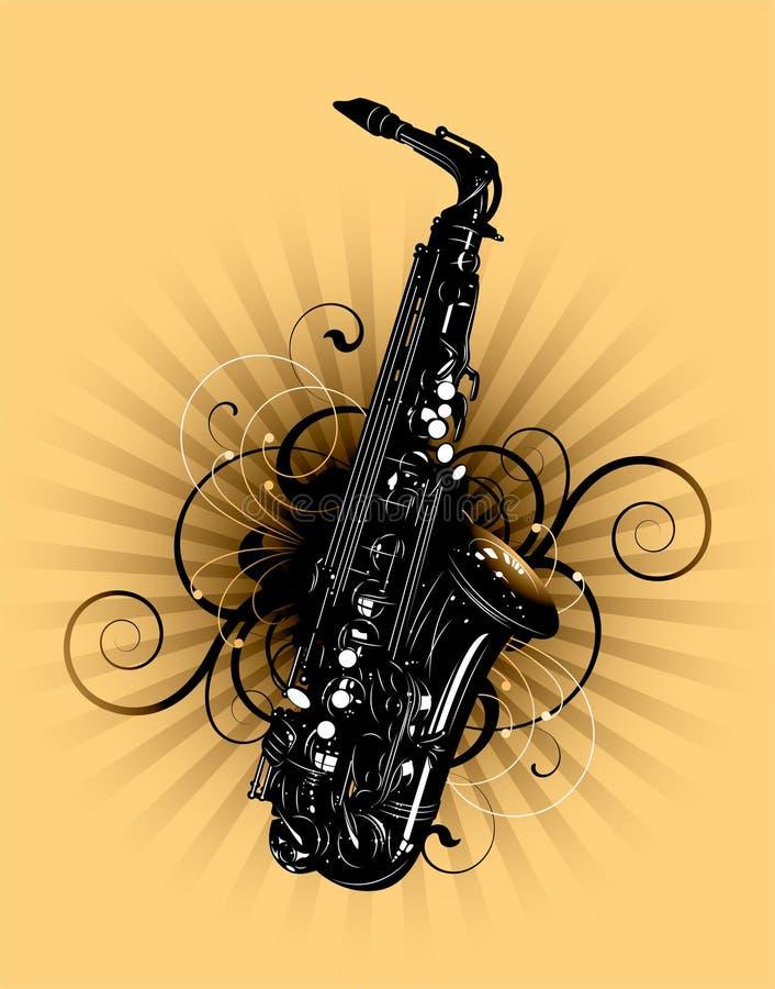 saxophone απεικόνιση αποθεμάτων