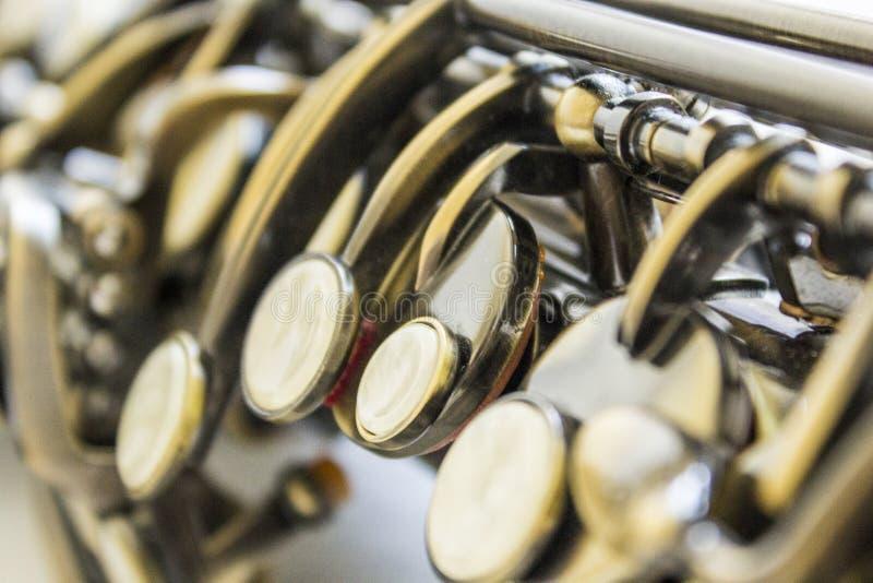 Saxophone royalty free stock photo