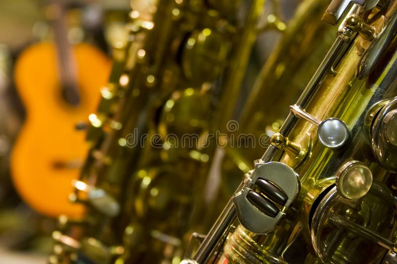 Saxophone, Musical Instrument, Woodwind Instrument, Wind Instrument royalty free stock images