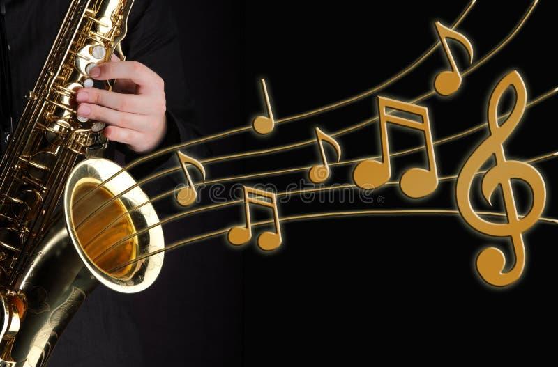 Download Saxophone player stock illustration. Image of drum, drums - 15329431