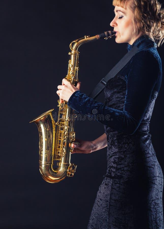 saxophone royalty-vrije stock foto's